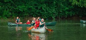 From bow to stern; all about canoeing at camp