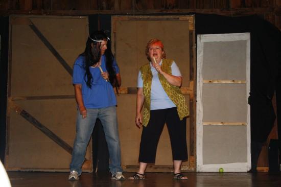 Drama at Camp Alleghany