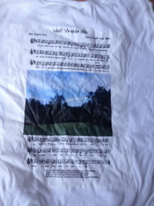Camp Alleghany tee shirt