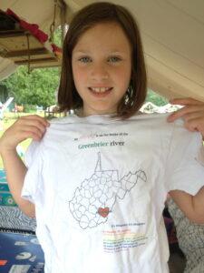 Camp Alleghany tee shirt