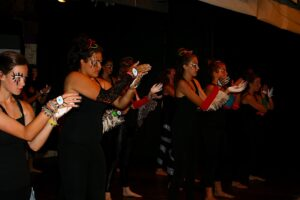 Sweat and swirl; all about dance at camp