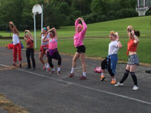 Camp Alleghany Counselors Goofing Off