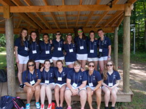 Camp Alleghany's international staff of 2015