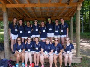 Camp Alleghany's international staff of 2015