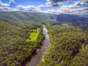 Gorgeous new aerial photos of Camp Alleghany