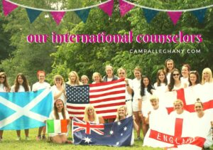 My experience of Camp Alleghany as an International Counselor