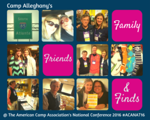 American Camp Association National Conference 2016