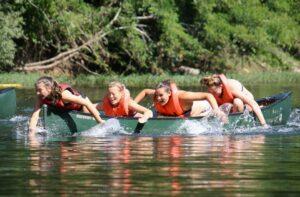Camp Canoeing