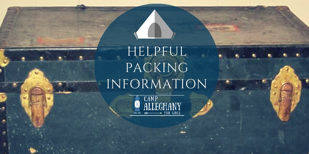 Camp Alleghany Packing INformation