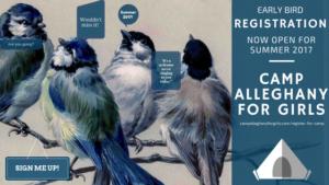 Summer 2017 Early Bird Registration