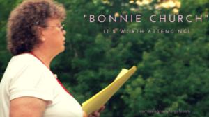 """Attending """"Bonnie Church"""""""