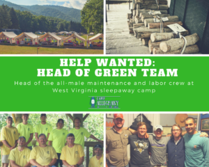 Hiring a Head of the Green Team