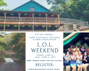 Ghany's Alumni L.O.L. Weekend 2017