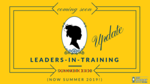Leaders-In-Training Update