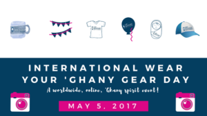 International Wear Your 'Ghany Gear Day, 2017!