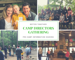 Local Gathering of Camp Directors