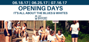 Opening Days In Blues & Whites