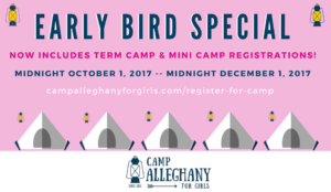 Early Bird Registration 2017 Includes Mini Camp!