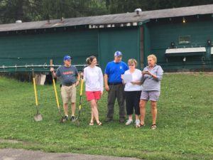 Groundbreaking Ceremony for our New Bathhouse