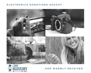 Request for Electronics Donations
