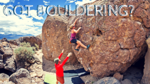 New 2018 Activity Feature: Bouldering!