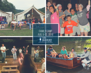 Get Ready for Family Camp 2018
